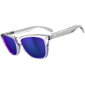 Oakley Frogskins Polished Clear/Violet Iridium